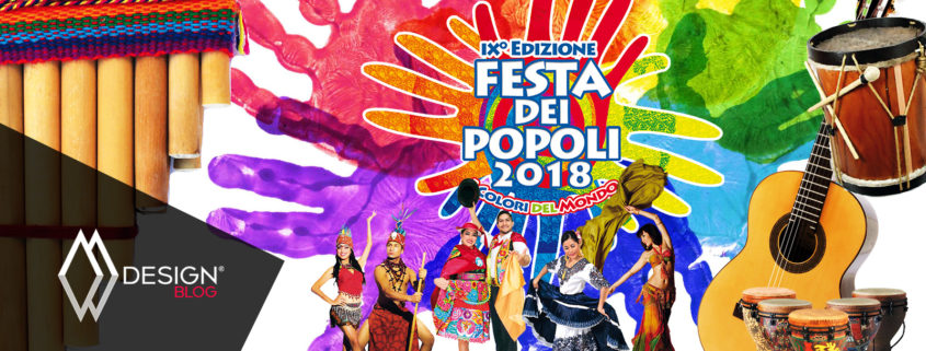 Locandina Festa dei Popoli 2018